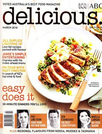 Delicious Magazine - Australian Master Chef Judge discovers Stir
